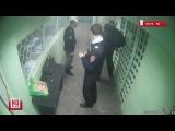 Пытки в ОВД Пыть Яха.  Видео с камеры наблюдения