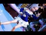 【MMD】TERA Elin Dance - Suki! Yuki! Maji Magic (好き!雪!本気マジック)