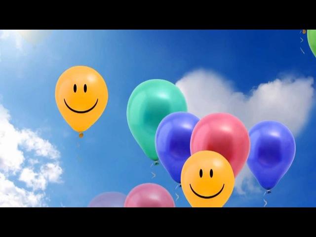 Песни для детей Шарики воздушные Songs for kids Balloons