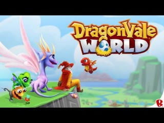 DRAGONVALE WORLD iOS / Android Gameplay Evolving and Leveling random Dragons