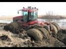 Трактор застрял в грязи 18 Уникальная подборка 2 Tractor stuck in mud compilation 2016, NEW