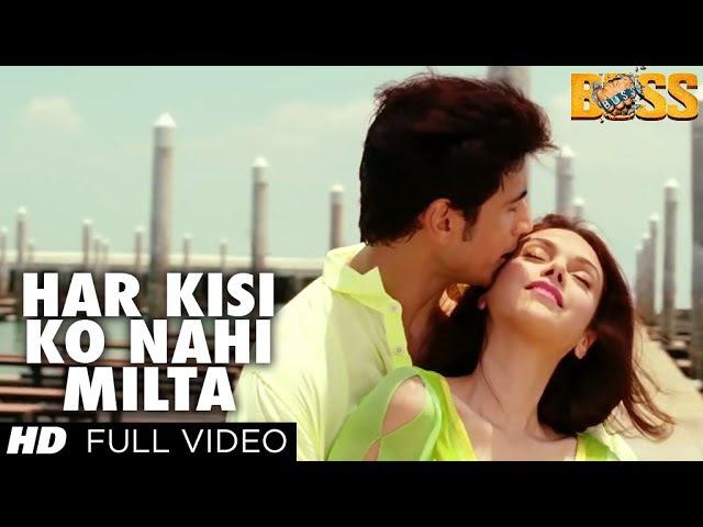 Boss Har Kisi Ko Nahi Milta Yahan Pyaar Zindagi Mein Full Song Shiv Pandit Aditi Rao Hydari