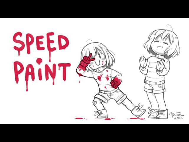 Undertale - 'NOPE' Speedpaint