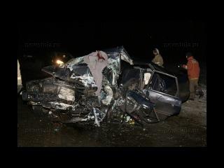 Один человек погиб и два пострадали в ДТП на выезде из Тулы