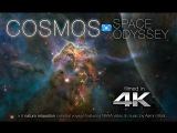COSMOS Space Odyssey 4K Nature Relaxation Video ft. NASA &amp Music by Aaron Static