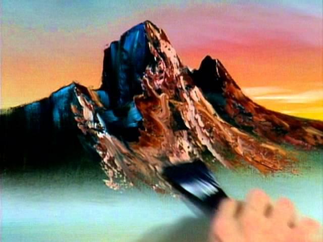 Bob Ross - Mountain at Sunset (Season 12 Episode 10)