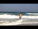 Персидский залив. Дикий пляж на Аль Хан Бич.