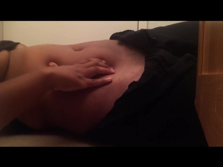 belly play and hip rolling (navel fetish, belly fetish)