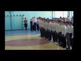 Строевой смотр песни к 9 маю школа №3 Нягань 5-е классы