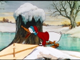 Рождество Дональда Дака. Избранное - 1 серия - На льду (1935) 1080p