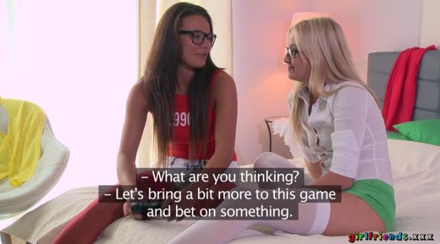 Girlfriends – Cayla Lyons And Vanessa Decker – Lesbian Gamer Girls Hot Romance