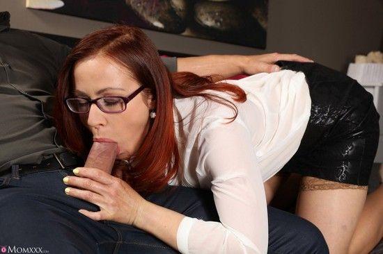 MomXXX – Bibi Fox – MILF Lust In Glasses And Stockings