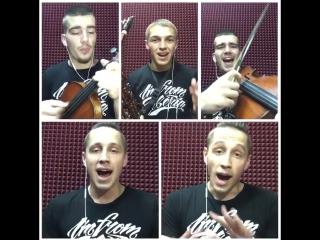 OFB aka Offbeat Orchestra - BeatBox Show D-fm Novosibirsk (part 2)