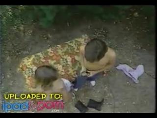 Молодежь забрела в леса потрахаться на природе - Hot Young Teen In Vintage Scene With A beautiful Ass / Retro Porn / Ретро Порно