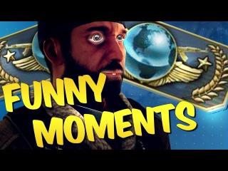 CS GO FUNTAGE - Global Elite Adventures & Funny Moments #5