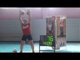 Ладный Павел , Подаш Артем , толчок 24 и 16 кг