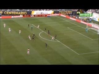 Соединённые Штаты Америки - Парагвай 1-0 (12 июня 2016 г, Кубок Америки)