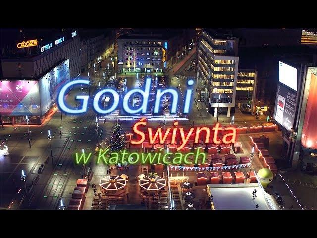 Godni Świynta w Katowicach - timelapse 4K