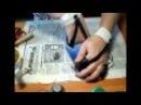 МК Как подшить валяные тапочки часть 1