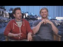 'The Avengers' Super Dads Hemsworth Downey Jr and Ruffalo Reveal Their Secrets