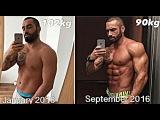 Lazar angelov Transformation After 4 Surgeries Aesthetic Fitness Motivation