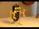 How to make a walking robot with moving arms 1 Ice cream stick biped