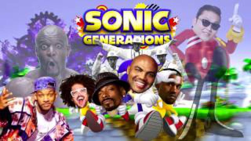 Everybody's Rooftop Run (Sega vs. Quad City DJs vs. LMFAO vs. Nickelodeon vs. Beastie Boys...