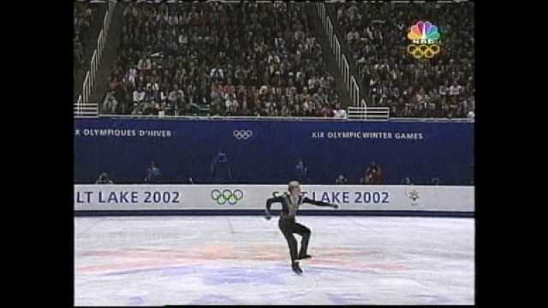 Evgeny Plushenko (RUS) - 2002 Salt Lake City, Figure Skating, Mens Free Skate