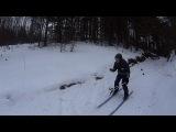Лыжная прогулка по озеру Хепоярви