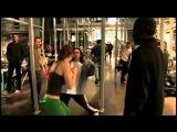 Jessica Biel and Ryan Reynolds - Blade Trinity Training