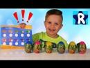 ★ Сюрприз БАКС БАННИ от Roma Show с ПЕЧАТЯМИ Bugs Bunny unboxing new toys surprise