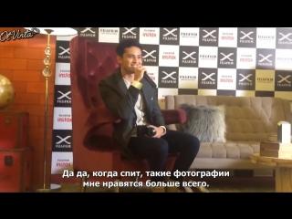 [FSG Ot Vinta!] Интервью с Джеймсом Ридом на мероприятии Fuji
