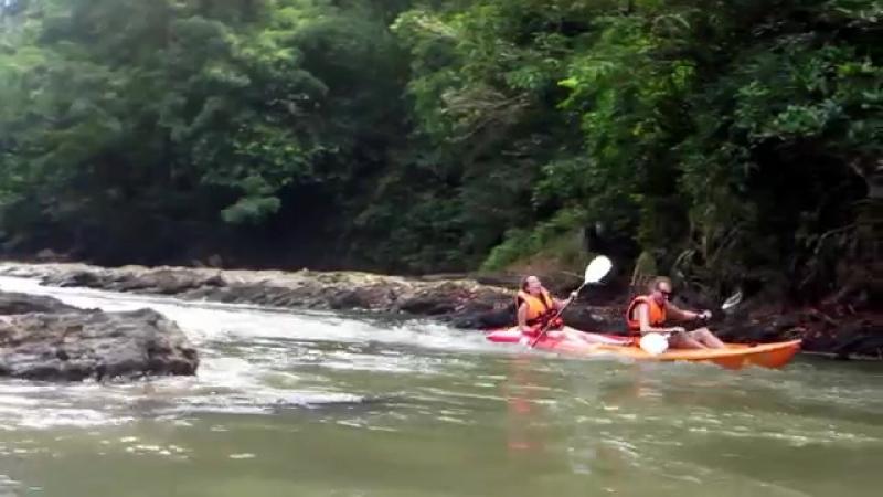 Semadang Kayak 2014 Activities in Kuching Sarawak
