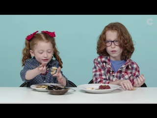 American kids about french food