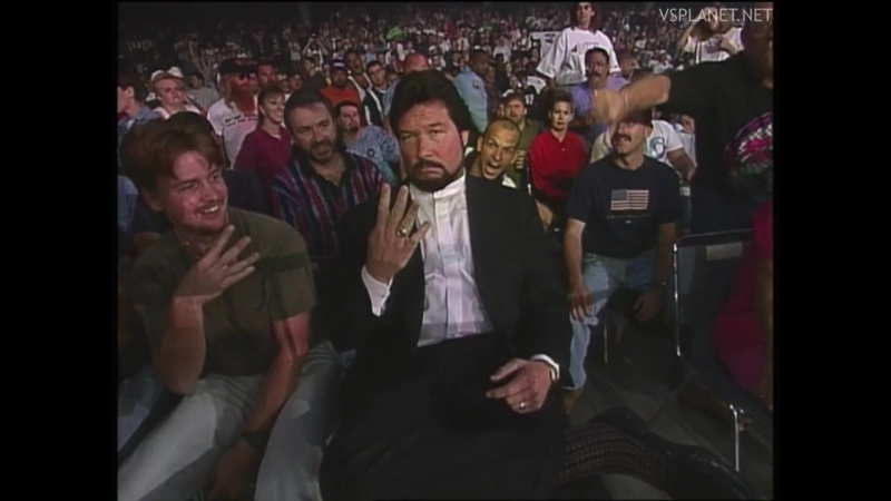Ted Dibiase debuts in WCW, Monday Nitro 26.08.1996