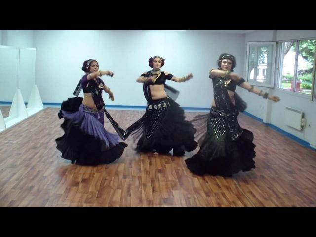 Magenta J (Duet Trio) American Tribal Style® (ATS®) Petrovskaya, Tsvetkova, Alisa (24.07.16)