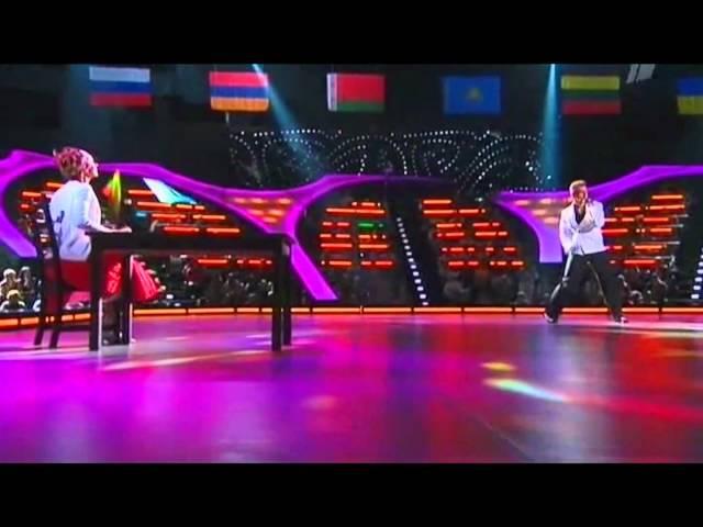 Выступление победителей шоу Лед и пламень Навки и Воробьева в гала концерте Тан...