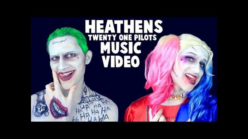 HEATHENS - TWENTY ONE PILOTS (MUSIC VIDEO)   SUICIDE SQUAD