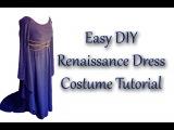 Easy DIY Renaissance Dress Tutorial - Stop the Pin-Sanity