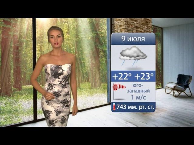 Прогноз погоды 09.07.2016