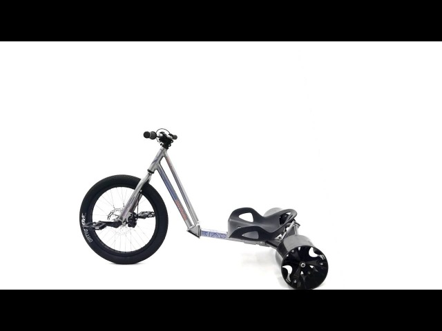 Обзор вело трайка Triad Drift Trikes Hitman