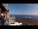 Винищувач F A 18 перевищив швидкість звуку F A 18C Breaks Speed of Sound