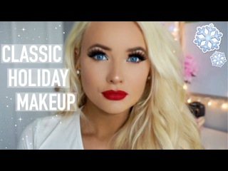 Classic Holiday Makeup ♡ Catrice One Brand Tutorial
