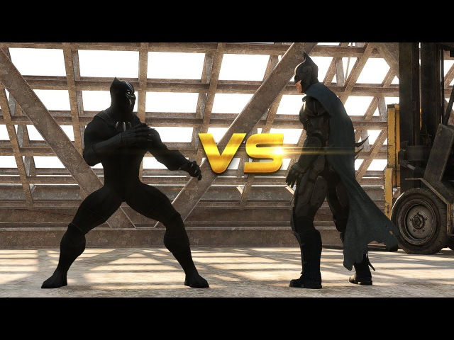 Batman vs Black Panther | DEATH BATTLE!