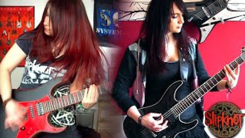 SLIPKNOT Nomadic GUITAR COVER with SOLO by Jassy J BulletVain