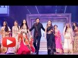 Shah Rukh Khan Walks The Ramp With Yash Chopra's Nine Heroines - Late Yash Chopra Birthday 2013