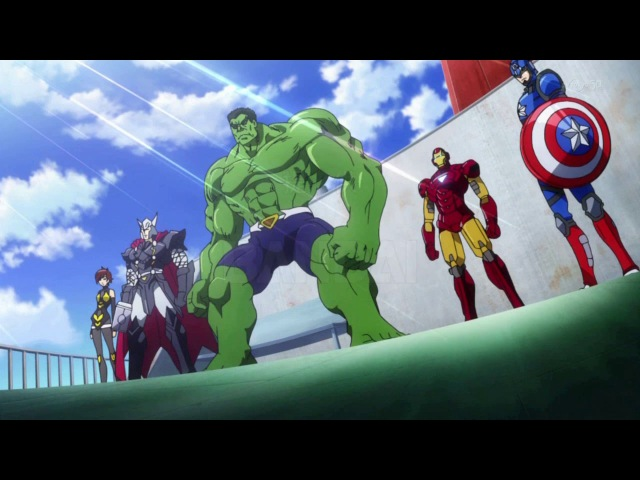 Marvel Disk Wars The Avengers / Мстители Дисковые войны 9 из 51 Dzi-tyan Tasuke