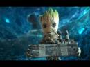 GUARDIANS OF THE GALAXY 2 Movie Clip - Baby Groot (2017) Marvel Superhero Movie [4K ULTRA HD]