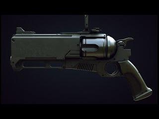 Scifi gun modelling