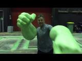 Короткое видео (5 сек.) с Марком Руффало со съемок фильма